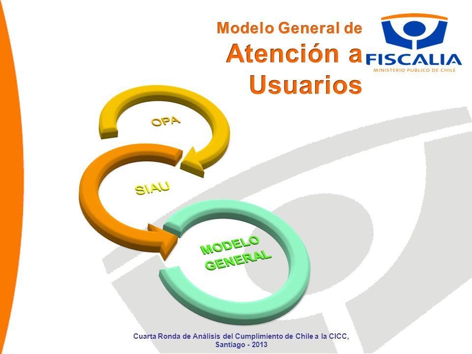 Cuarta Ronda de Análisis del Cumplimiento de Chile a la CICC, Santiago - 2013