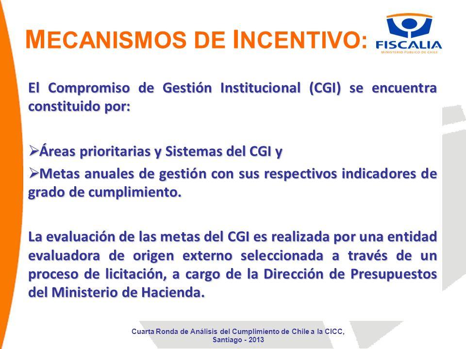 El Compromiso de Gestión Institucional (CGI) se encuentra constituido por: Áreas prioritarias y Sistemas del CGI y Áreas prioritarias y Sistemas del C