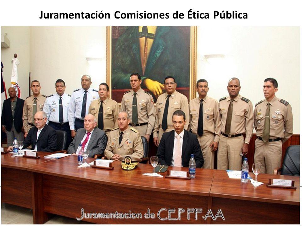 Juramentación Comisiones de Ética Pública
