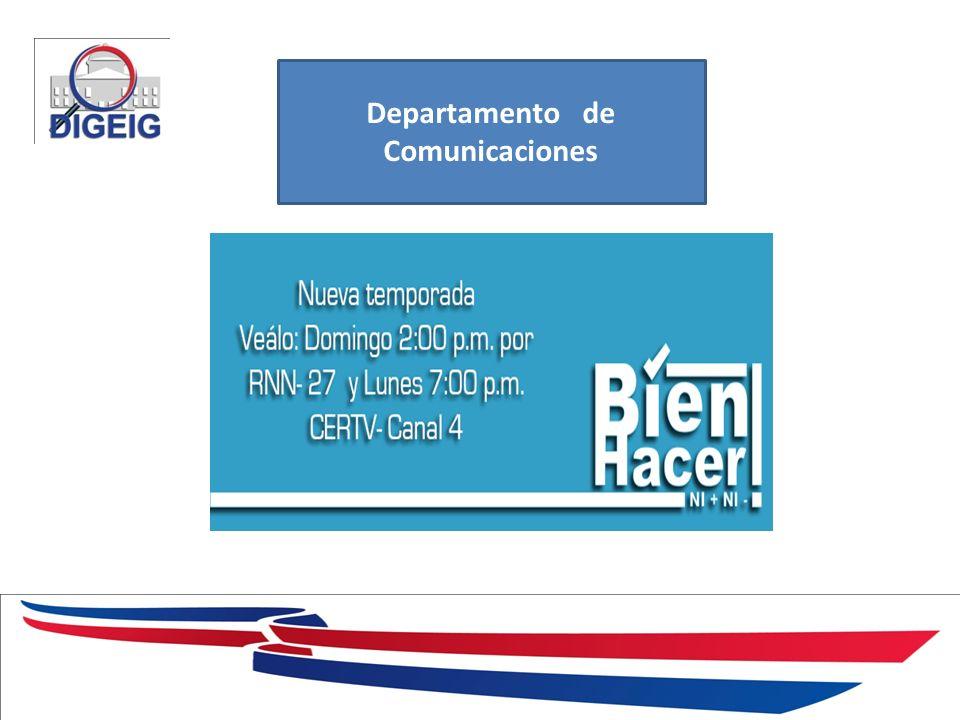 1/11/2014 Departamento de Comunicaciones