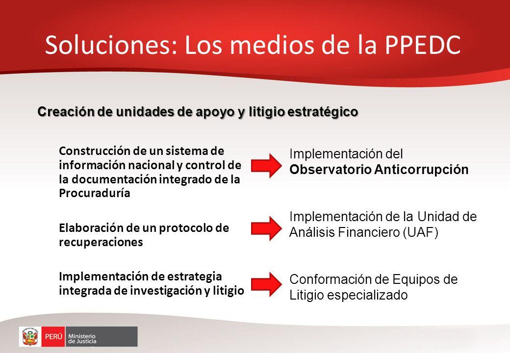 Construcción de un sistema de información nacional y control de la documentación integrado de la Procuraduría Elaboración de un protocolo de recuperac