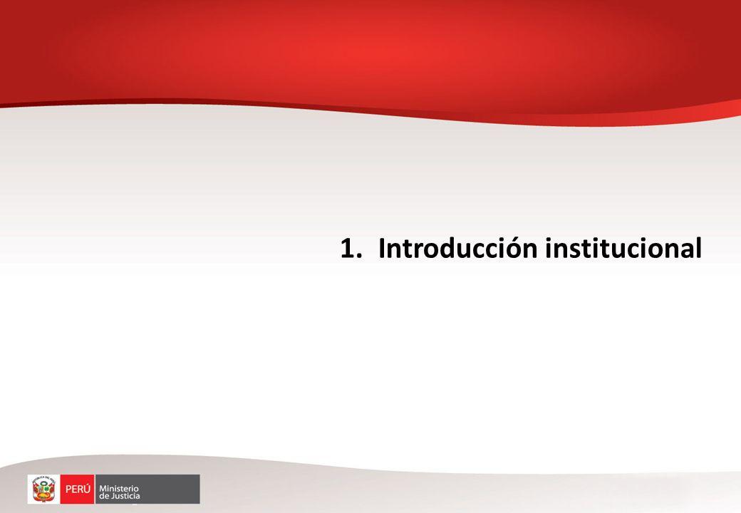 1.Introducción institucional