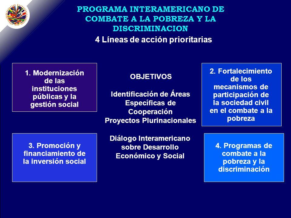 4 Líneas de acción prioritarias 2.