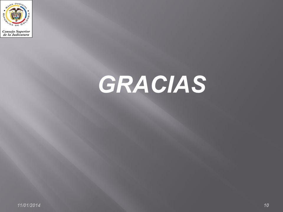11/01/201410 GRACIAS