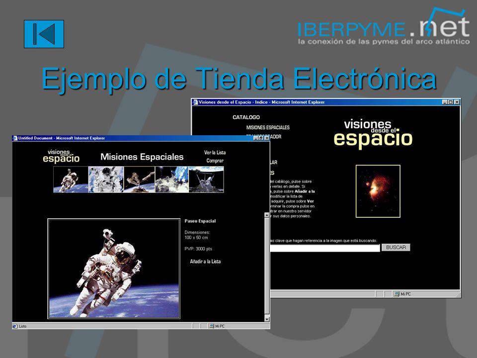Comercio Electrónico comercio.iberpyme.net Centro Comercial IBERPYME Tiendas electrónicas individuales Promoción internacional del Trade Center Public