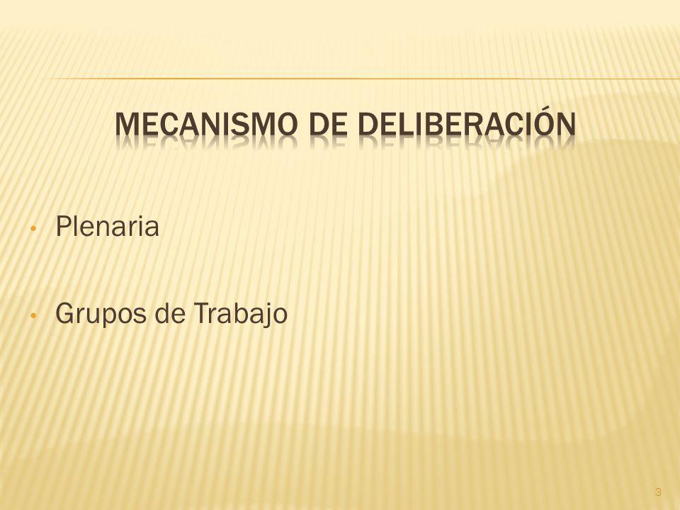 Plenaria Grupos de Trabajo 3