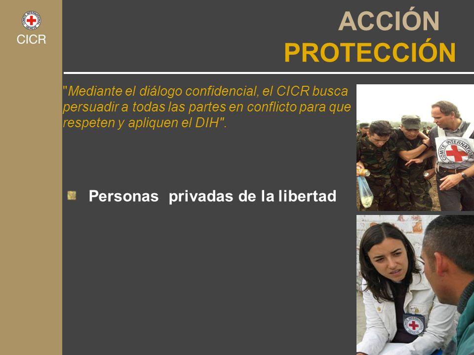 Personas privadas de la libertad ACCIÓN PROTECCIÓN