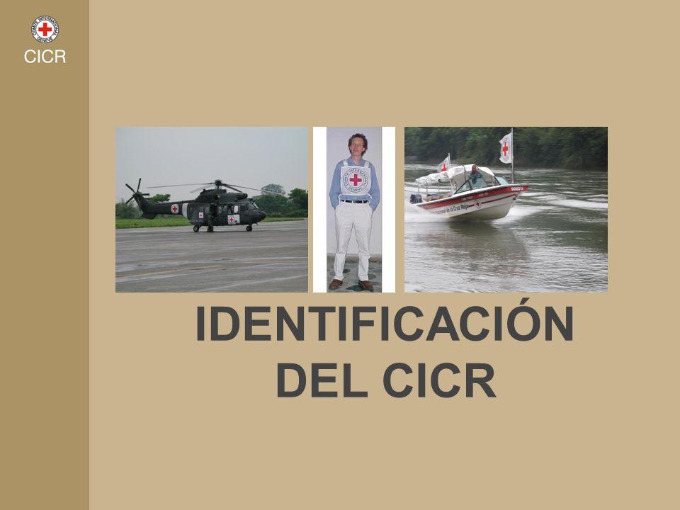 IDENTIFICACIÓN DEL CICR