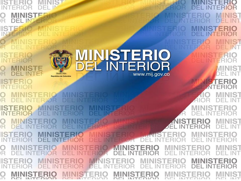 Ministerio del Interior y de Justicia Elecciones Territoriales 2011 Estructuras nuevas propuestas1