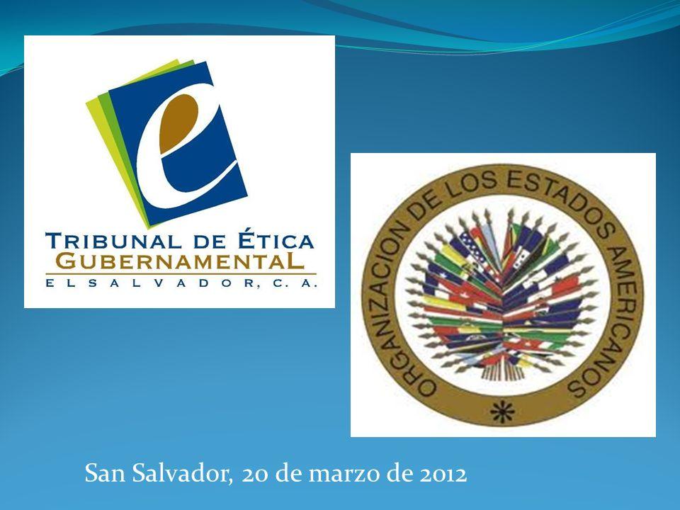 San Salvador, 20 de marzo de 2012