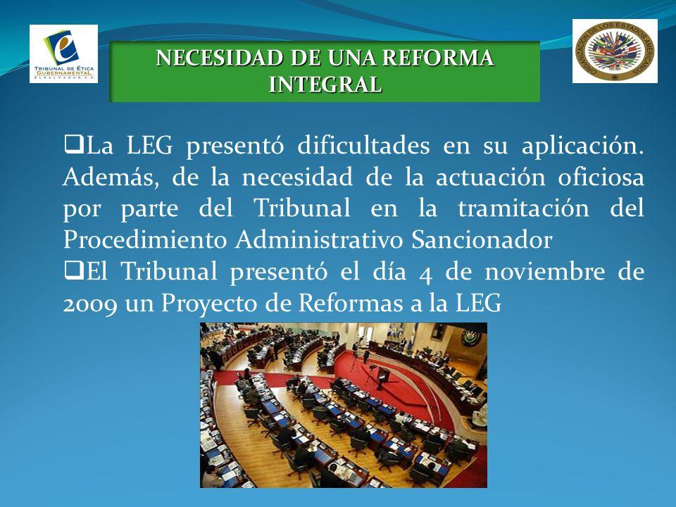 La Ley de Ética Gubernamental fue promulgada mediante Decreto Legislativo número 873 del 13 de octubre de 2011, publicado en el D.O.