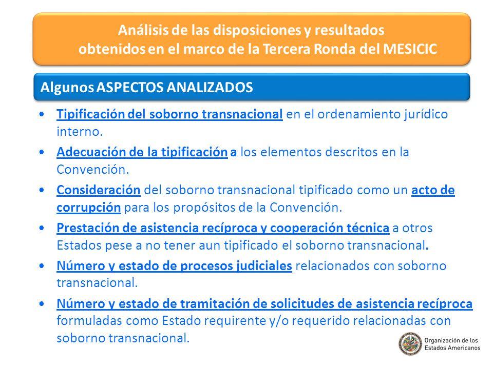 Tipificación del soborno transnacional en el ordenamiento jurídico interno. Adecuación de la tipificación a los elementos descritos en la Convención.