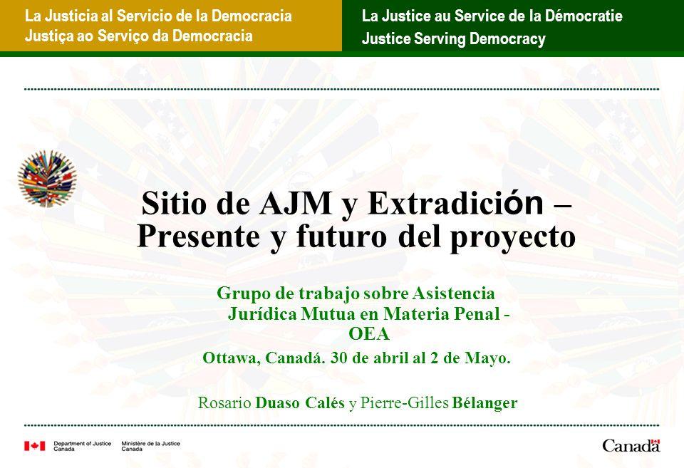 La Justicia al Servicio de la Democracia Justiça ao Serviço da Democracia La Justice au Service de la Démocratie Justice Serving Democracy Espacios comunes