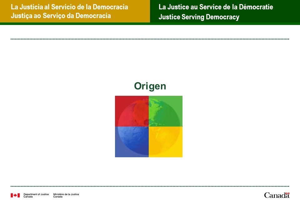 La Justicia al Servicio de la Democracia Justiça ao Serviço da Democracia La Justice au Service de la Démocratie Justice Serving Democracy ¿Cómo comenzó el proyecto.