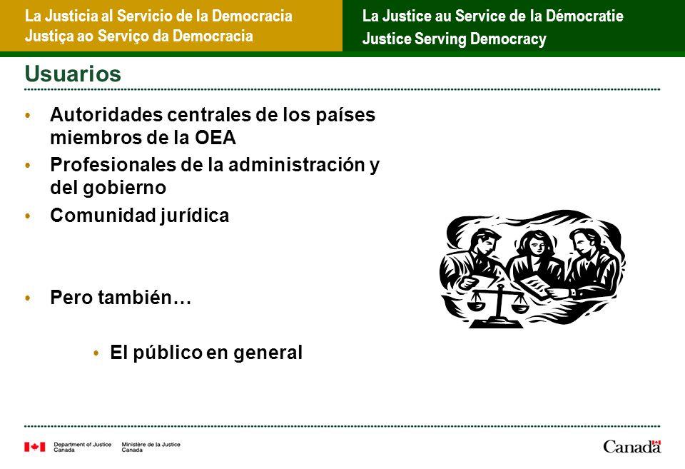 La Justicia al Servicio de la Democracia Justiça ao Serviço da Democracia La Justice au Service de la Démocratie Justice Serving Democracy Correo electrónico seguro
