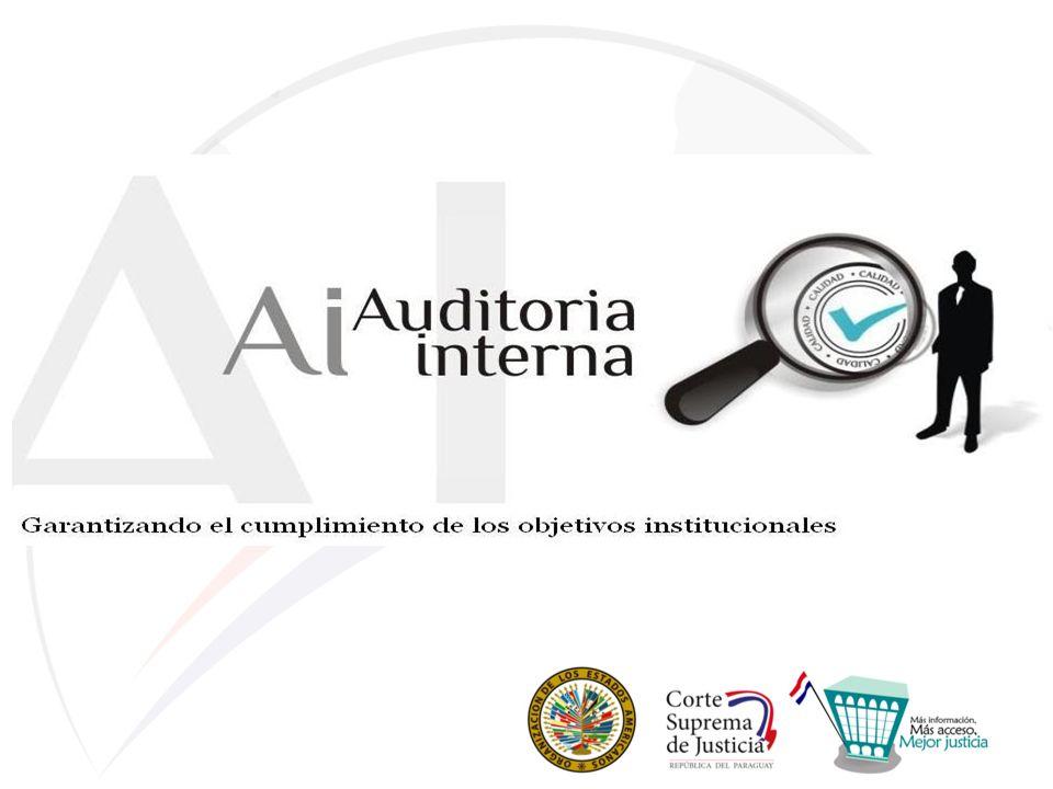 ESTRUCTURA DE LA DIRECCIÓN GENERAL DE AUDITORIA INTERNA: Corte Suprema de Justicia (CSJ) Consejo de Superintendencia de la CSJ Direccion General de Auditoria Interna (DGAI) Comité Consultivo de Auditoria Interna (CCAI) (AD HOC) SECRETARIA Comité de Gestión (CG) Dirección de Coordinación de Auditoria (DCA) Auditoria de Calidad (AC) Comité de Control de Calidad(CCC) Departamento Auditoria Operativa (AO) Departamento Auditoria Gestión Financiera (AGF) Departamento Auditoria Asuntos Institucionales (AAI) Departamento Auditoria Gestión Administrativa Interior (AGAI) Departamento Auditoria Informática (AI) Departamento Jurídico (DJ)