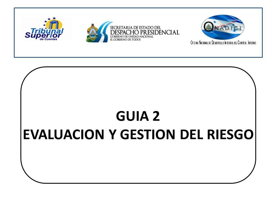 GUIA 2 EVALUACION Y GESTION DEL RIESGO