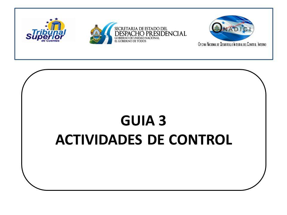 GUIA 3 ACTIVIDADES DE CONTROL