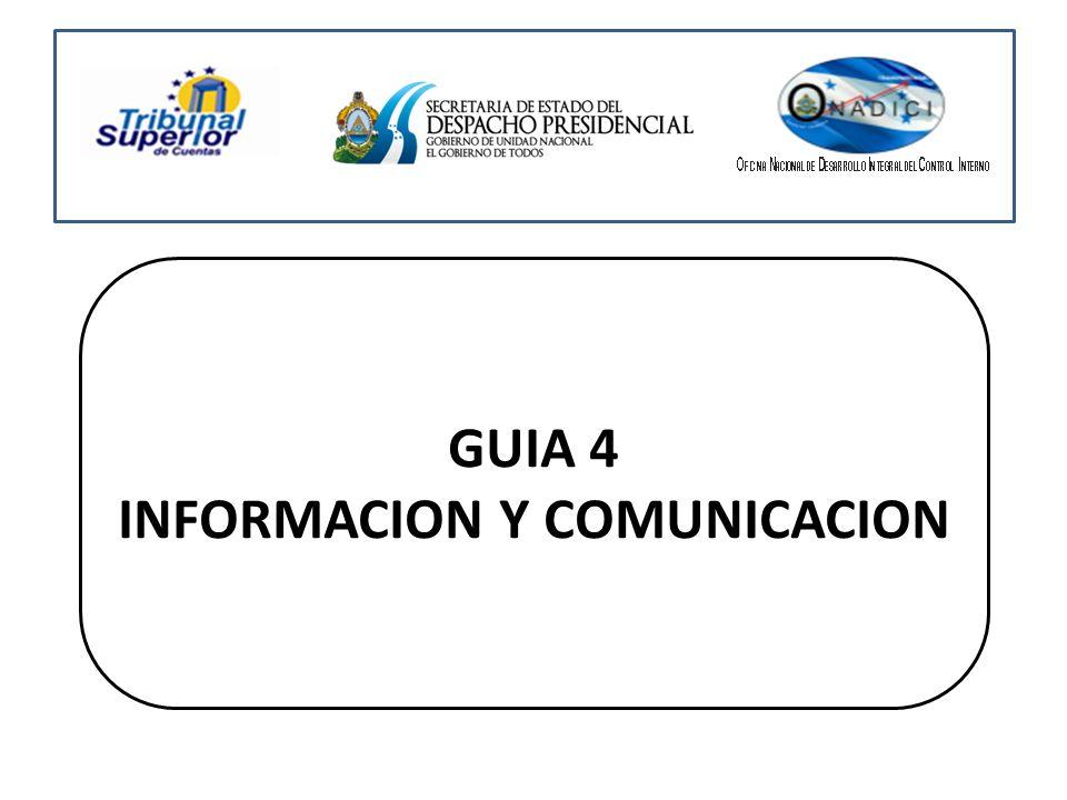 GUIA 4 INFORMACION Y COMUNICACION