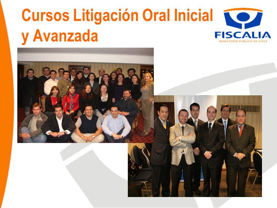 Cursos Litigación Oral Inicial y Avanzada