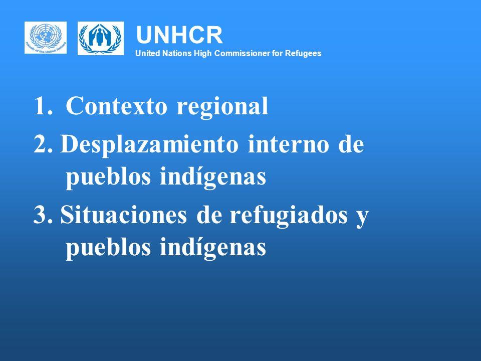 UNHCR United Nations High Commissioner for Refugees CONSIDERACIONES FINALES 6.Respuestas novedosas para aplicar el enfoque diferencial (métodos de enseñanza alterantivos, educacion bilingüe, medicina tradicional, empoderaiento de comunidades, fortalecimiento comunitario.