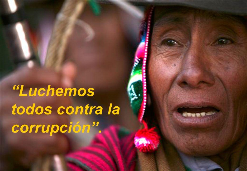 Pilar Institucional 8 Luchemos todos contra la corrupción.
