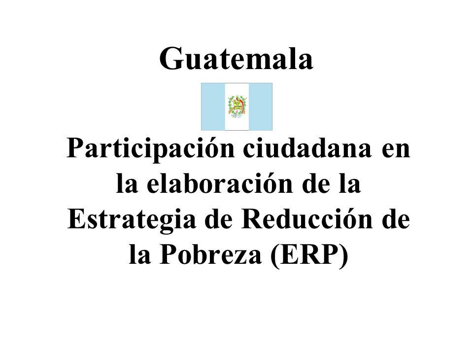 Partes de la exposición 1.Dimensión de la pobreza 2.Instancias de participación ciudadana 3.Validación de la ERP