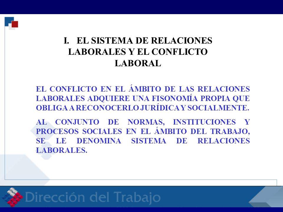 RECONOCIMIENTO DE LA REALIDAD DEL CONFLICTO LABORAL EN EL SENO DE LA SOCIEDAD, Y DE SU FUNCIONALIDAD EN LA MISMA.