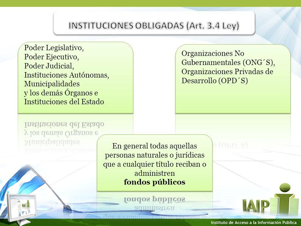 INFORMACION DE OFICIO.