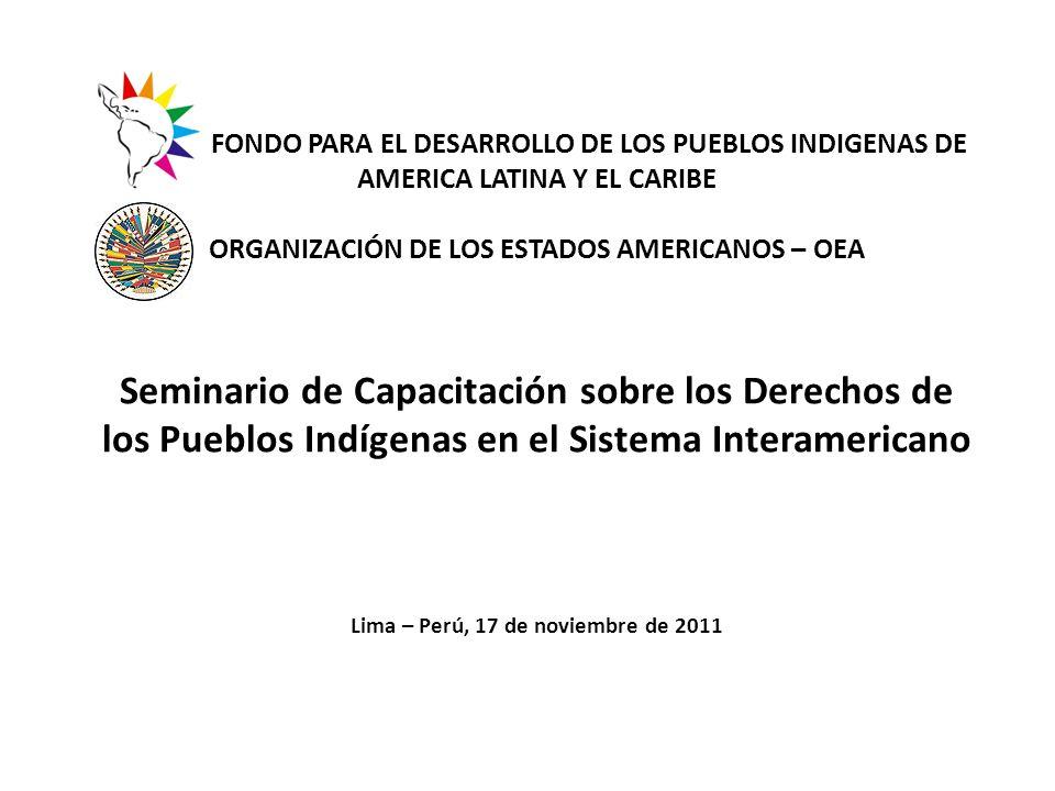 -La OEA fue creada en 1948 cuando se subscribió, en Bogotá, Colombia, la Carta de la OEA que entró en vigencia en diciembre de 1951.