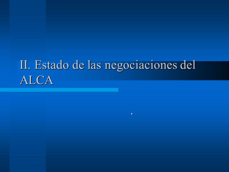 Balance entre comercio y cooperación Se pasó de Aid Not Trade (60s, 70s, 80s), a Trade not Aid (90s), y ahora a Trade and Aid, –En el ALCA se aprobó el PCH, –En los TLCs bilaterales se ha colocado una mesa de cooperación para el comercio al lado de las negociaciones Todas las áreas de los TLCs más otras son sujetas de cooperación, incluyendo la laboral y la ambiental.