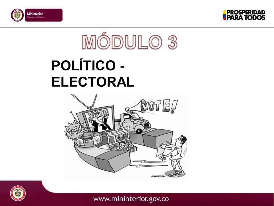 POLÍTICO - ELECTORAL