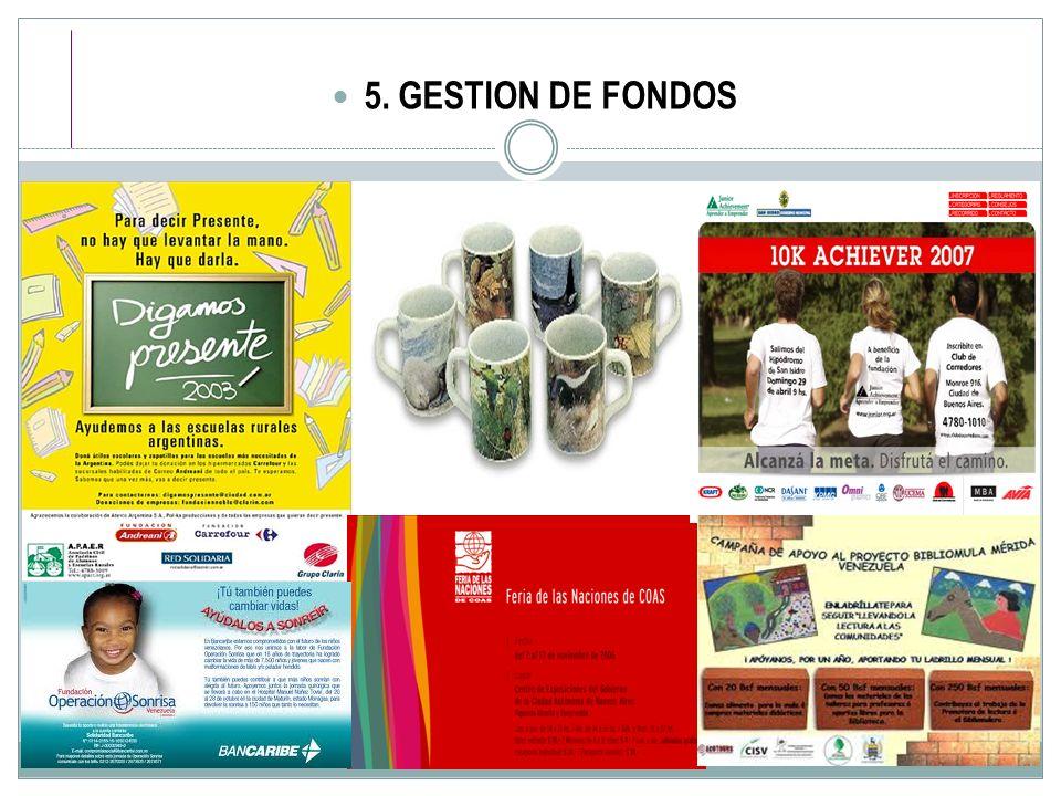 5. GESTION DE FONDOS