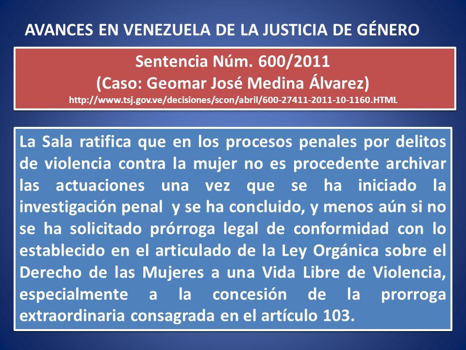 La Sala ratifica que en los procesos penales por delitos de violencia contra la mujer no es procedente archivar las actuaciones una vez que se ha inic