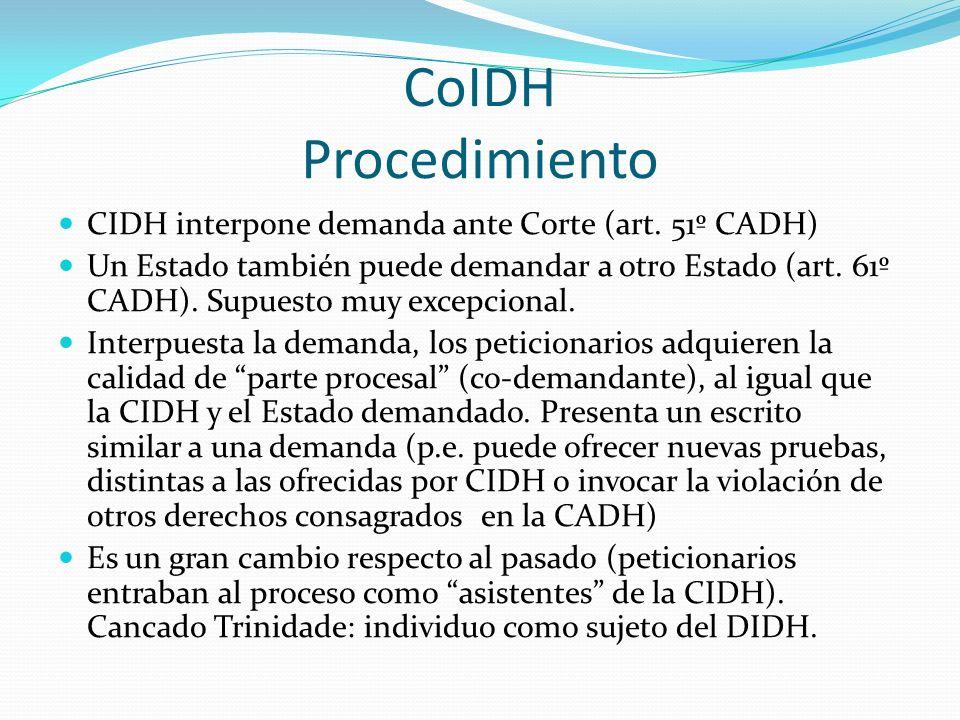 CoIDH Procedimiento CIDH interpone demanda ante Corte (art.
