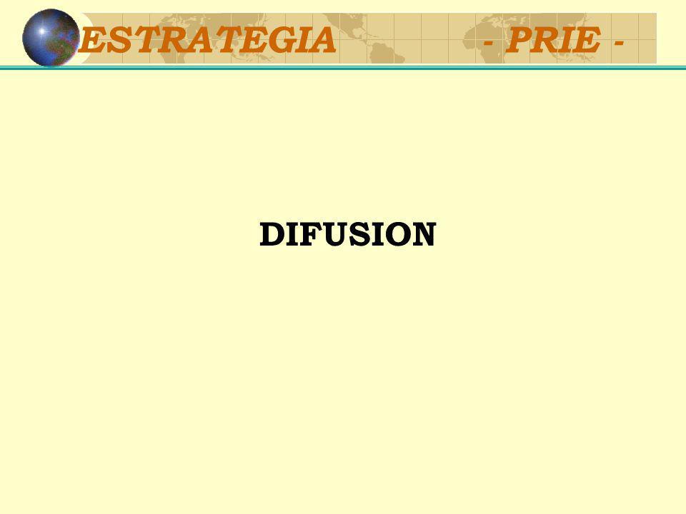 ESTRATEGIA - PRIE - DIFUSION