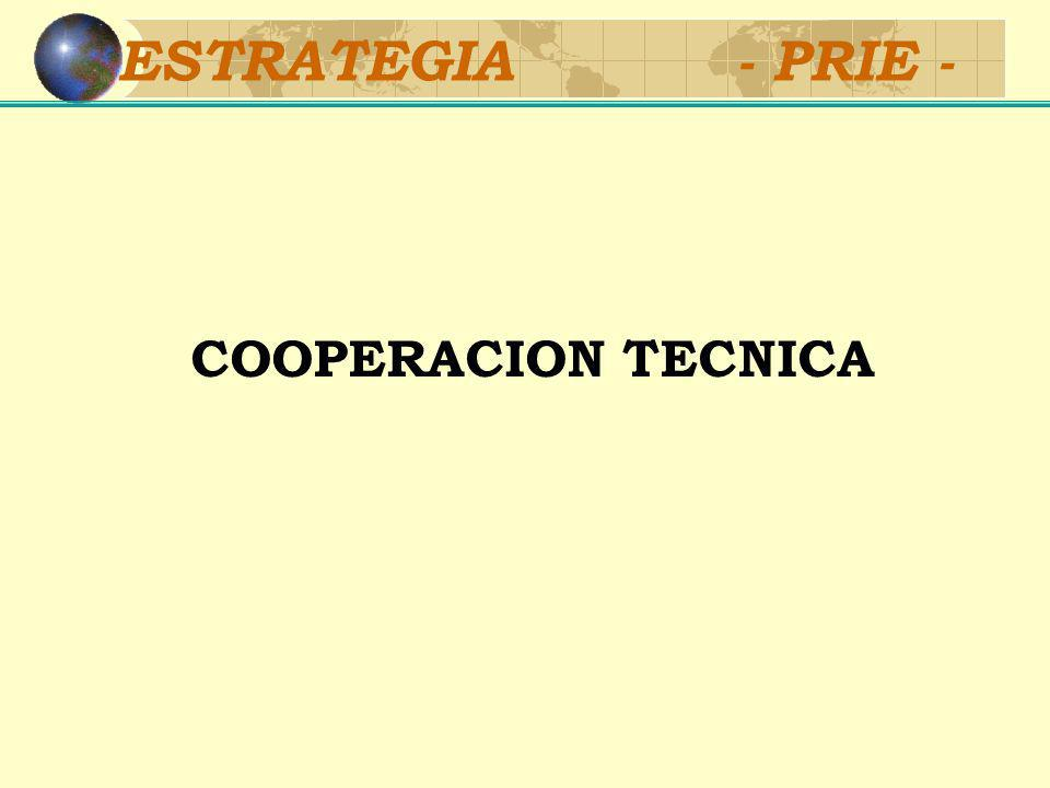 ESTRATEGIA - PRIE - COOPERACION TECNICA