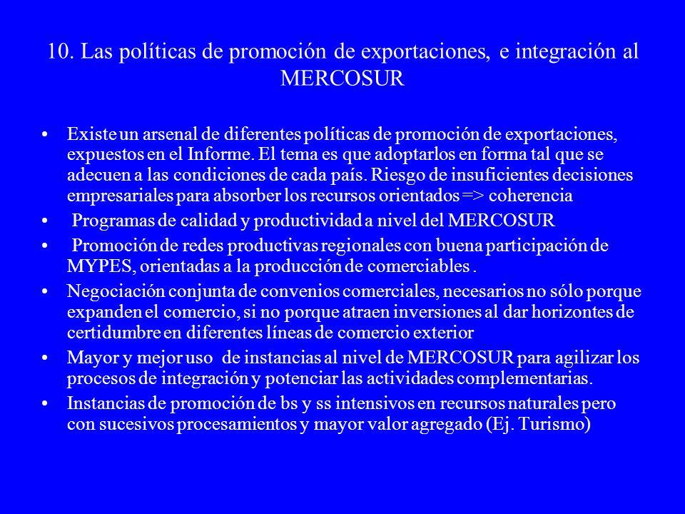 11.Las políticas activas de empleo No se pueden disociar de las tendencias macro, meso y micro económicas.
