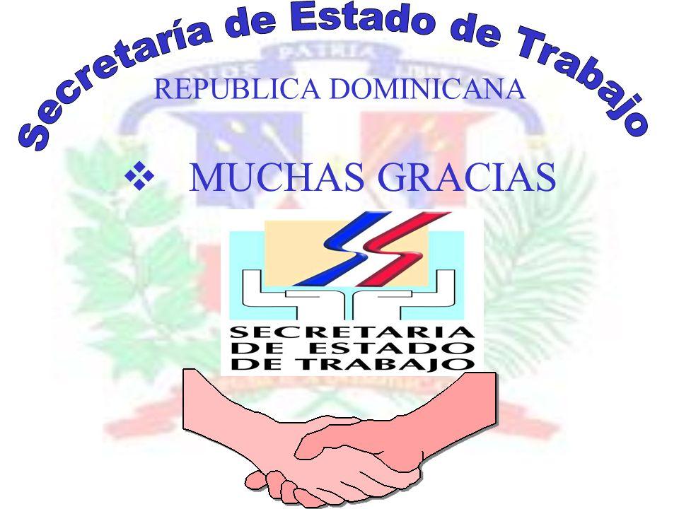 REPUBLICA DOMINICANA MUCHAS GRACIAS