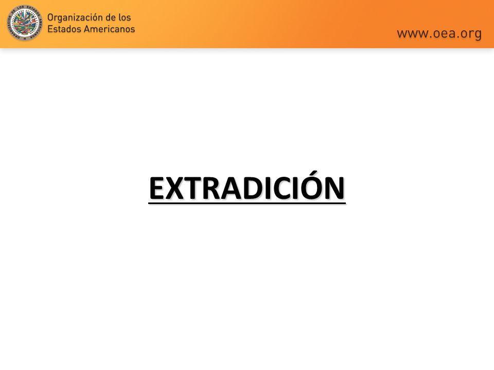EXTRADICIÓN