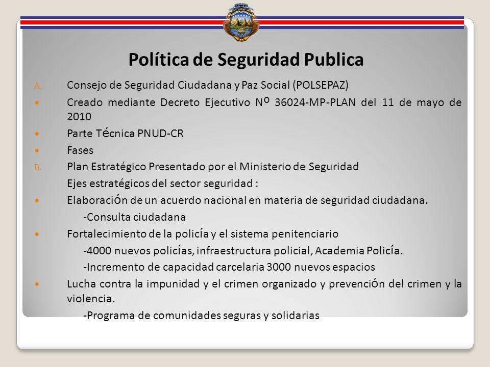 Política de Seguridad Publica A.