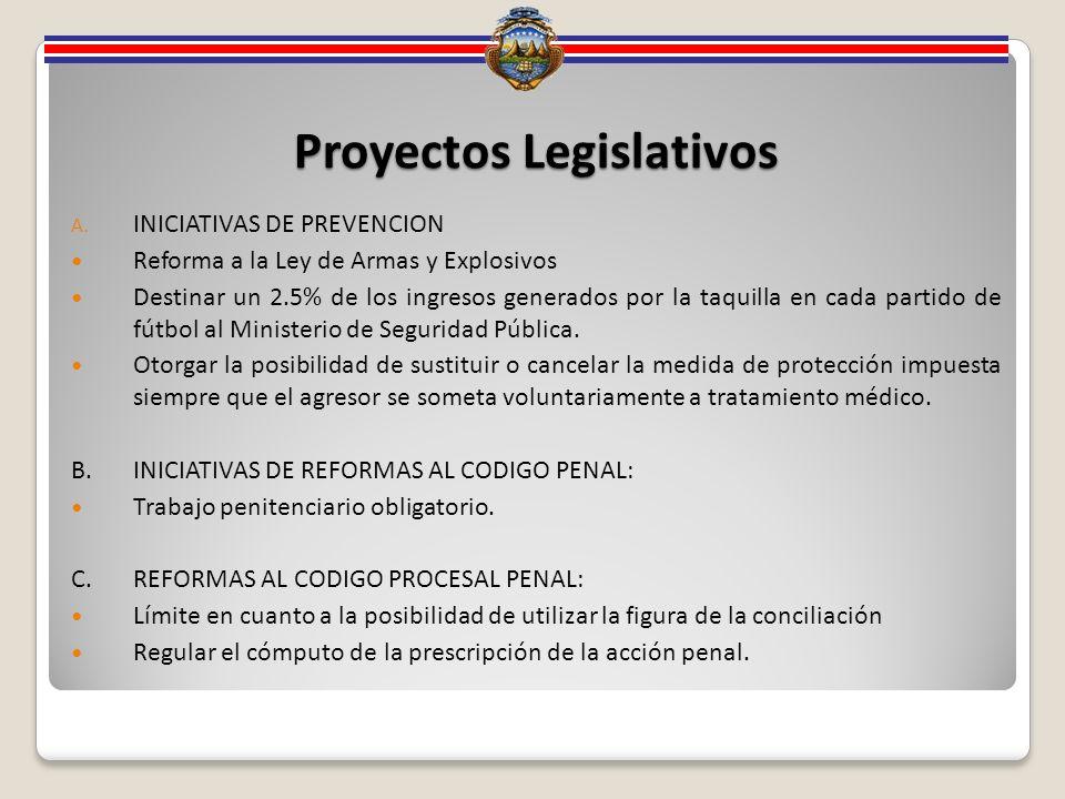 Proyectos Legislativos A.