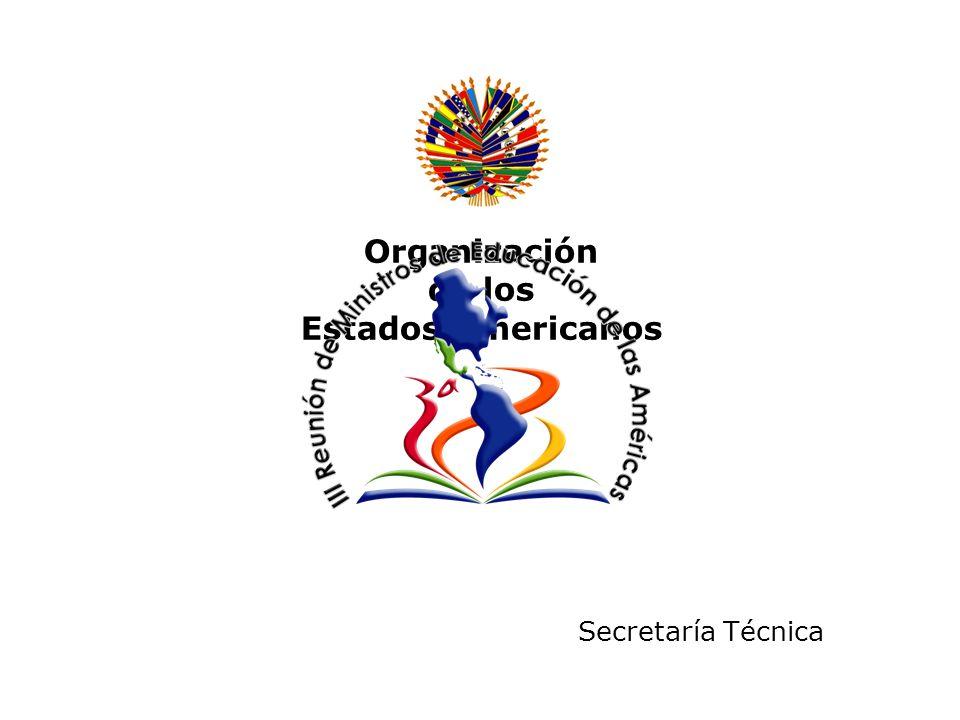 Organización de los Estados Americanos Secretaría Técnica