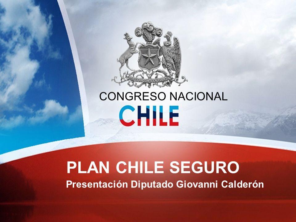 Contenido 1ºDiagnóstico de la Delincuencia en Chile 2ºFactores de la Delincuencia 3ºPlan de Seguridad Pública 2010 – 2014 4ºAlianza Estratégica Gobierno – Parlamento 5ºConclusiones