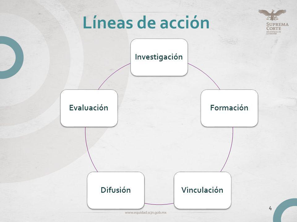 Líneas de acción 4