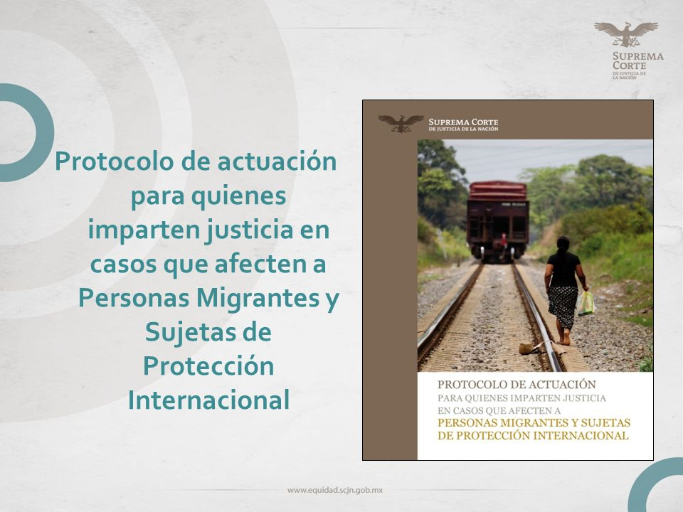 Estructura Protocolo I.Objetivos II.Justificación III.Marco jurídico IV.Marco conceptual V.Elementos para aplicar la PEG en el juzgar: Método VI.Lista de verificación