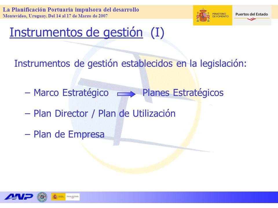 La Planificación Portuaria impulsora del desarrollo Montevideo, Uruguay.