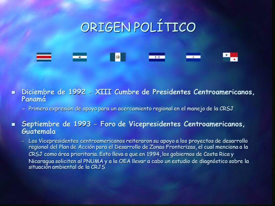 Ic. ANTECEDENTES: ORIGEN POLÍTICO, CONTEXTO REGIONAL Y COOPERACIÓN TÉCNICA