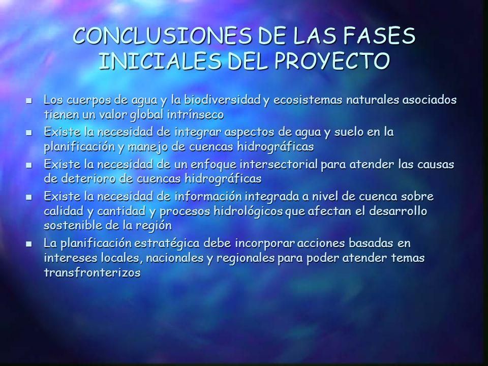 COOPERACIÓN TÉCNICA, cont. 1997 - 1998 - Fondo para el Medio Ambiente Mundial (FMAM), donación PDF Bloque B 1997 - 1998 - Fondo para el Medio Ambiente