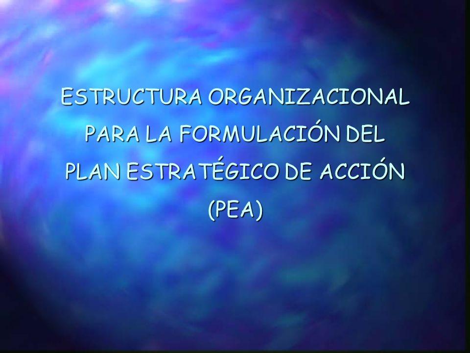 II. PLAN ESTRATÉGICO DE ACCIÓN (PEA) PARA LA GESTIÓN INTEGRADA DE LOS RECURSOS HÍDRICOS Y EL DESARROLLO SOSTENIBLE DE LA CRSJ